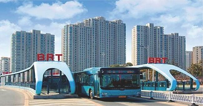 南昌BRT站台